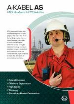 A-KABEL ATEX PTTs and Headsets PDF