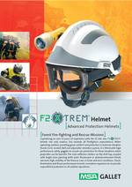 MSA F2 XTREM Forest Fire-fighting and Rescue Helmet PDF