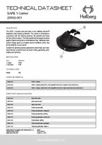 Hellberg Safe 1 Spec Sheet PDF