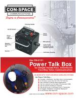 CON-SPACE Power Talk Box PDF