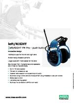 MSA Left/RIGHT FM Pro Spec Sheet PDF