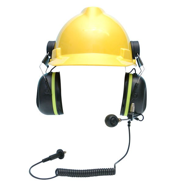 A-KABEL Passive Ground Mechanics Headset (Helmet Attached)