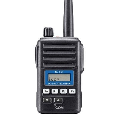 ICOM IC-F51/F61 (ATEX version)