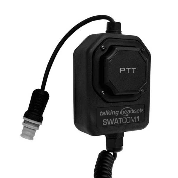 SWATCOM SC1 PTT & SC8 Lightweight Headset with mic