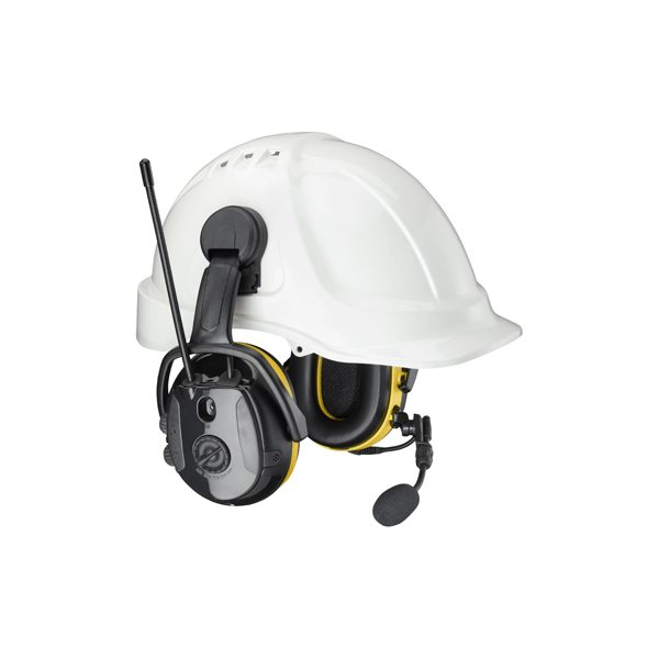 Hellberg Secure 2C Synergy AM/FM/Active/Bluetooth/Streaming/Helmet attached