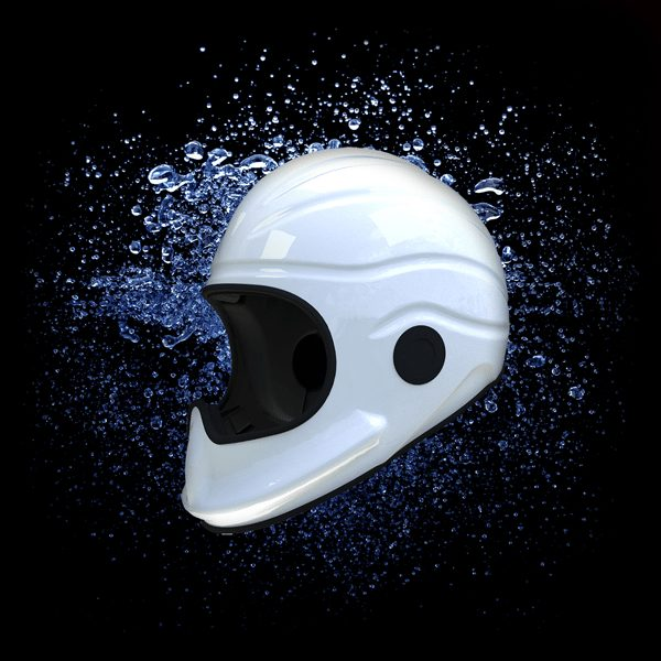 Gecko Full Face Marine Safety Helmet