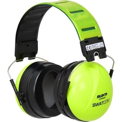 Silenta Supermax High Visibility Earmuffs