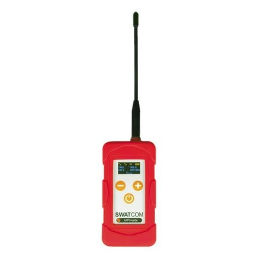 SWATCOM DX Full-Duplex Communication Transceiver with internal antenna