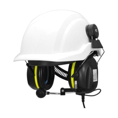 A-KABEL TWINCOM Headset ATEX Helmet attached SNR 30